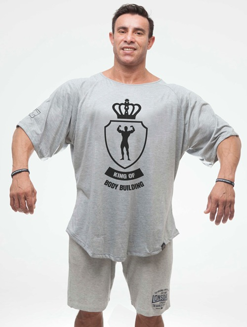 Camiseta Morcegão Maromba King Of Bodybuilding + Brinde - R  49 0d2aa581681