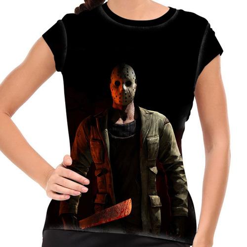 camiseta mortal kombat jason baby look
