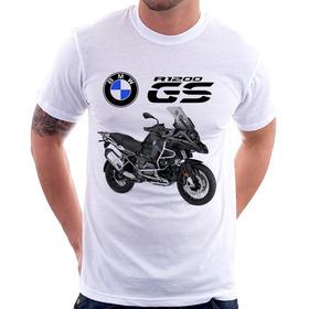 Camiseta Moto Bmw R 1200 Gs Triplo Black