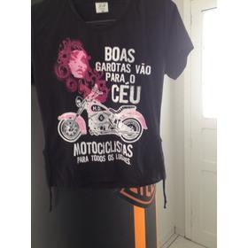 Camiseta Moto Femenino