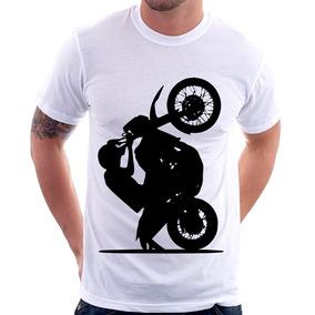 5eb8e7004 Barra De Grau Para Empinar Moto - Camisetas e Blusas no Mercado Livre Brasil