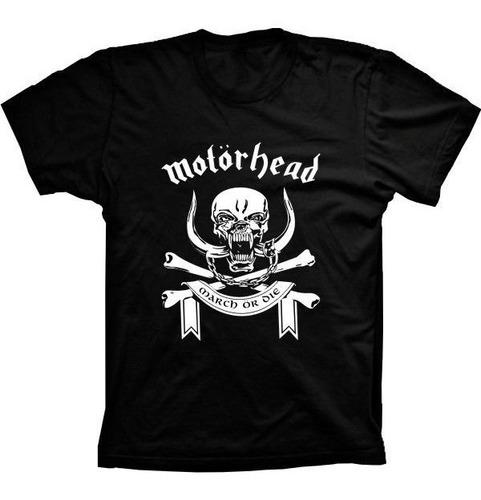 camiseta motorhead vários tams. plus size g1 g2 g3 g4