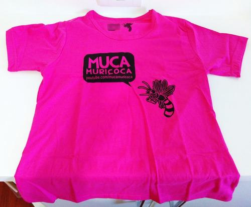 camiseta muca muriçoca - baby look