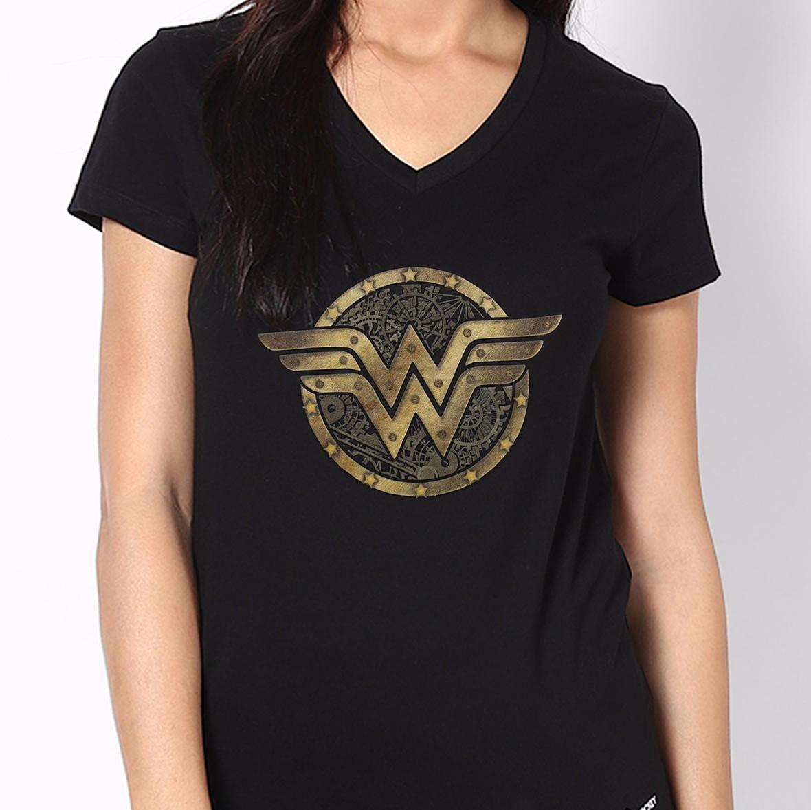 camiseta mulher maravilha batman vs supeman heroina camisa. Carregando zoom. 55b4d9fd1c5a2
