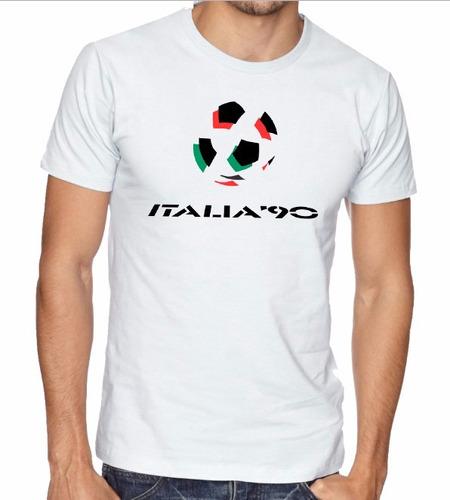 camiseta mundial italia 90