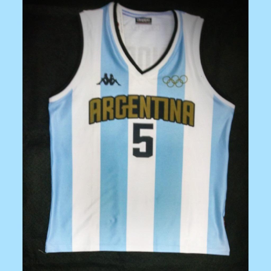 52c03aa4f42d5 camiseta musculosa basquet oficial ginobili rio 2016. Cargando zoom.