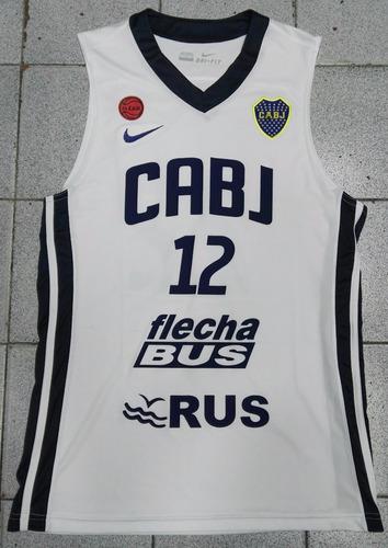 camiseta musculosa boca juniors basket 2018