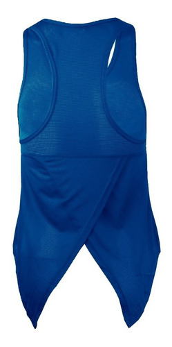 camiseta musculosa dryfit deportiva calce holgado mujer
