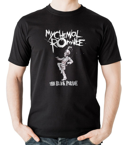 camiseta my chemical romance mcr black parade rock activity