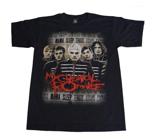 camiseta my chemical romance rock activity importada talla m