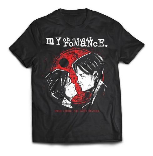 camiseta my chemical romance three cheers mcr rock activity