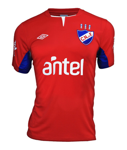 camiseta nacional alt roja m/c 2012 umbro rincón del hincha