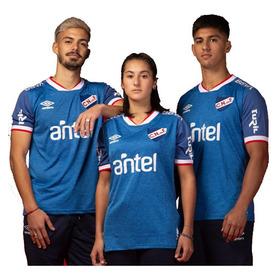 Camiseta Nacional Azul 2021 Hincha Adulto Futbol Umbro