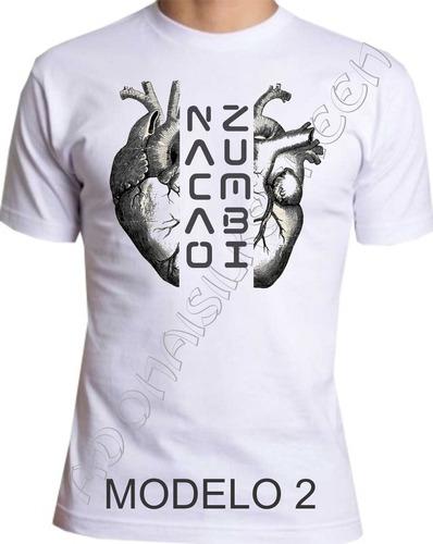 camiseta nação zumbi m-2