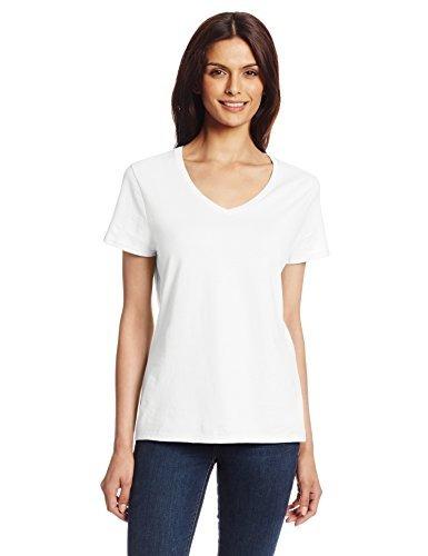 Camiseta Nanot Vneck De Manga Corta Para Mujer De Hanes -   77.990 en  Mercado Libre 1fc3a7a46235d