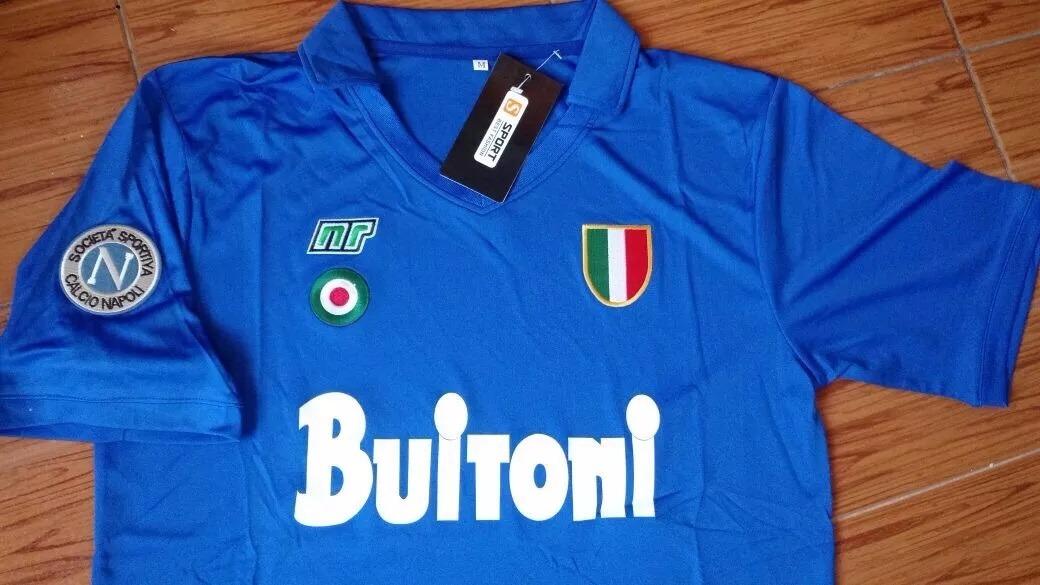Camiseta Napoli chica
