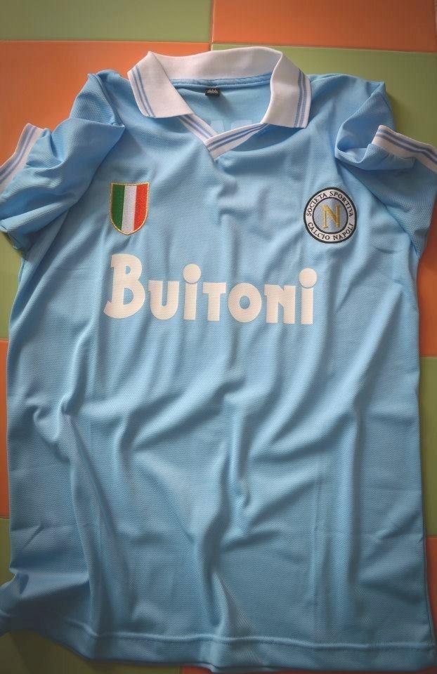 camiseta napoli buitoni retro maradona 10. Cargando zoom. d6e1a9c394b63