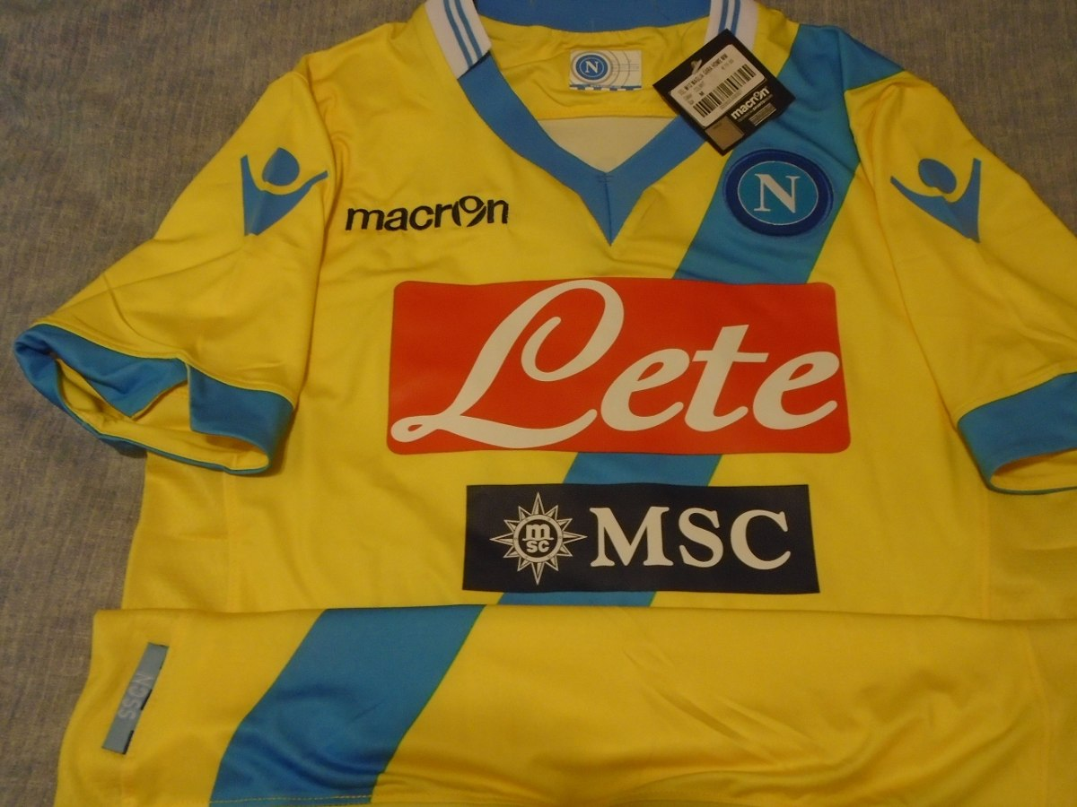 camiseta napoli italia macron 2013 2014 higuaín  9 argentina. Cargando zoom. 1b2e0a3ac6984