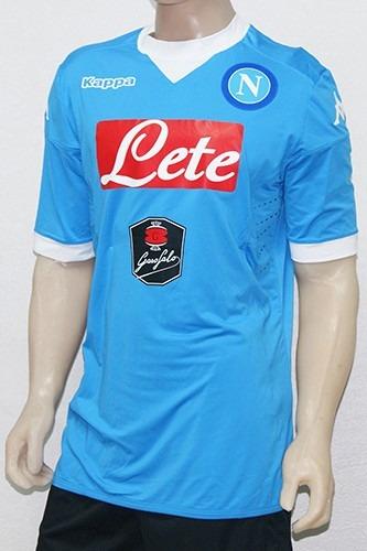 Camiseta Napoli Kappa Titular 2015 16 Oficial Importada -   1.099 33207d12f4f11