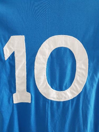 camiseta napoli maradona 87/88. unica toda cosida a mano!!