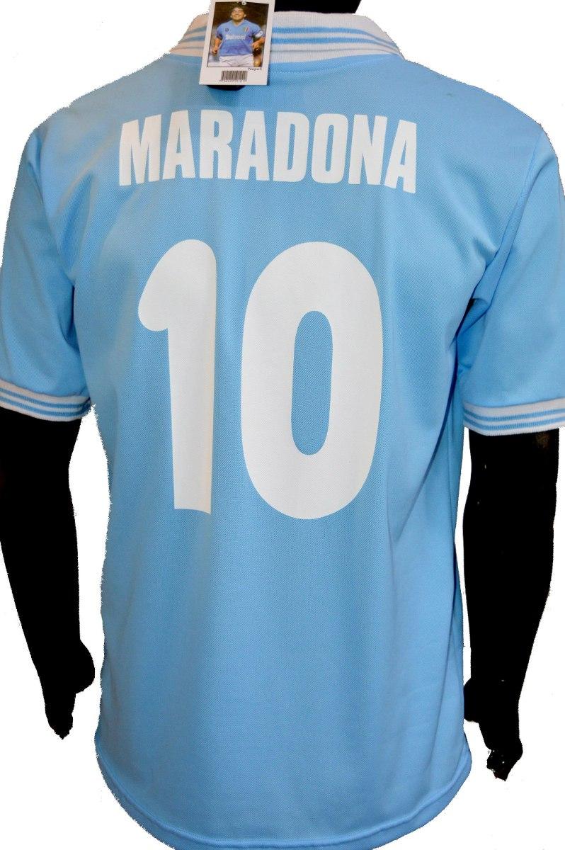 camiseta napoli retro maradona. Cargando zoom. 79c2ec8295aa4