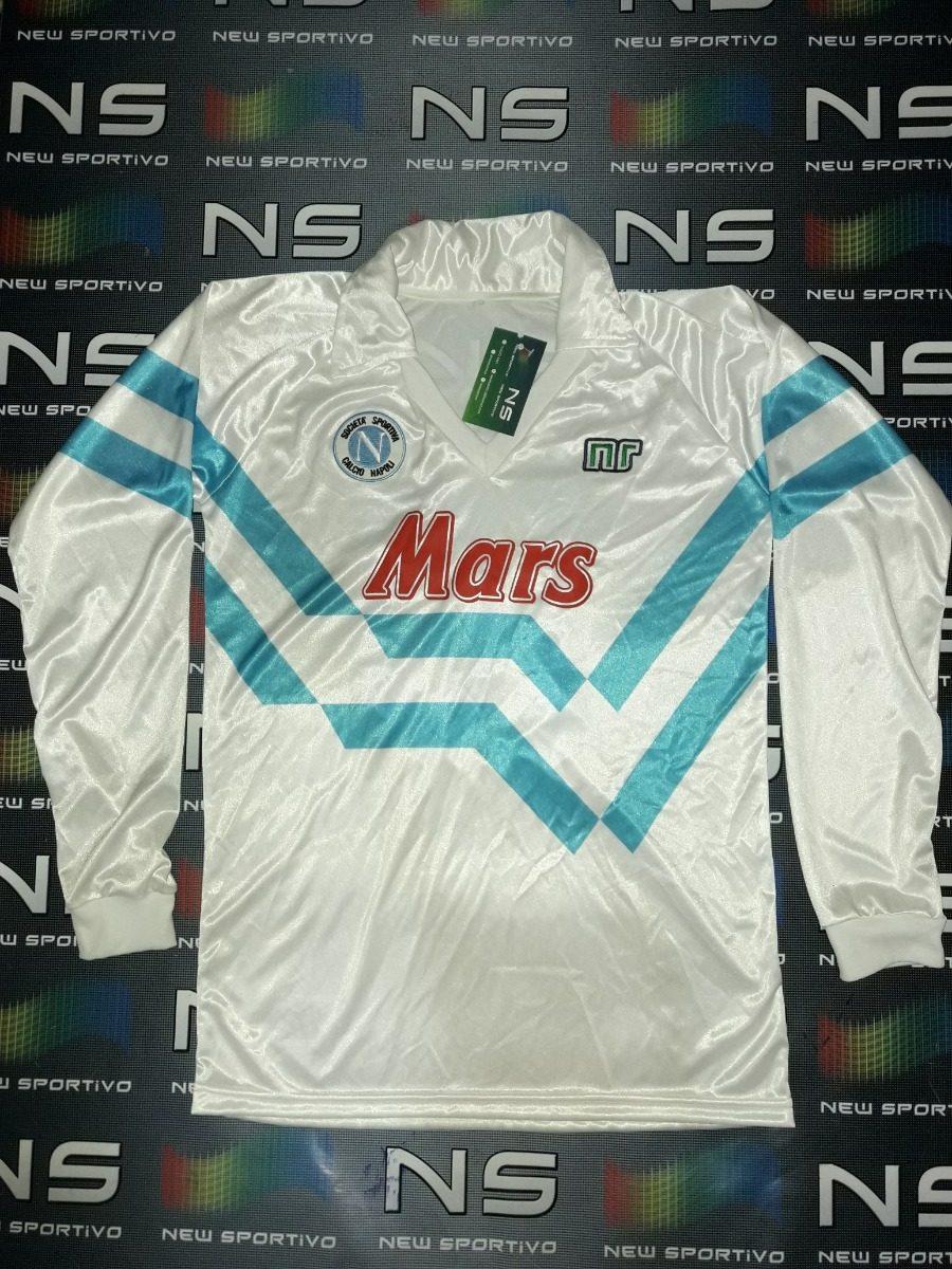 camiseta napoli suplente manga larga  10 maradona 1989 retro. Cargando zoom. 34dcd2c147f07