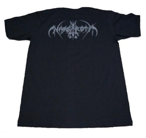 camiseta nargaroth rock activity importada talla m