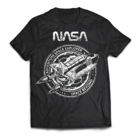Camiseta Nasa Adventure Explorer Rock Activity