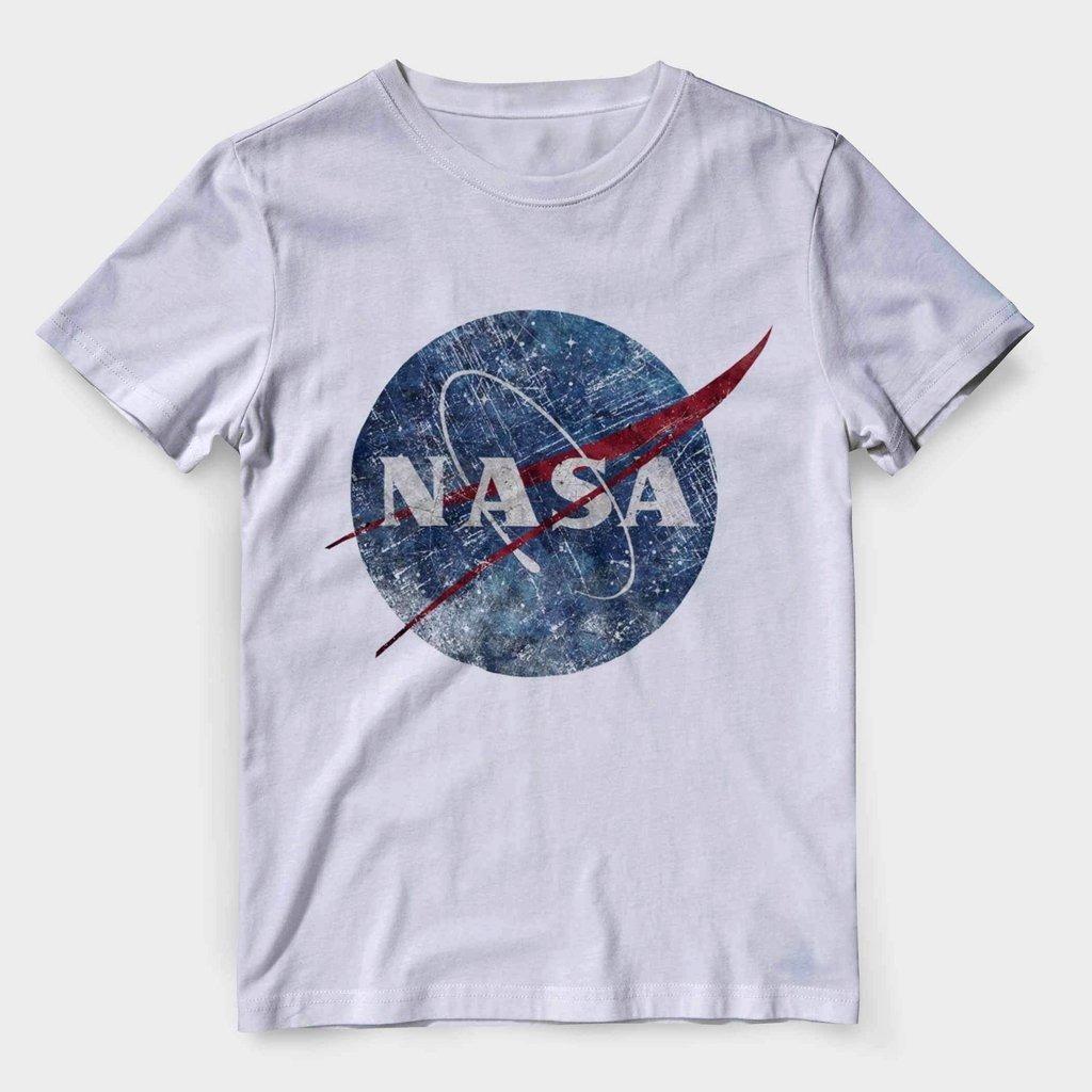 f57b20b69 camiseta nasa cinza masculina vintage astronauta barata. Carregando zoom.