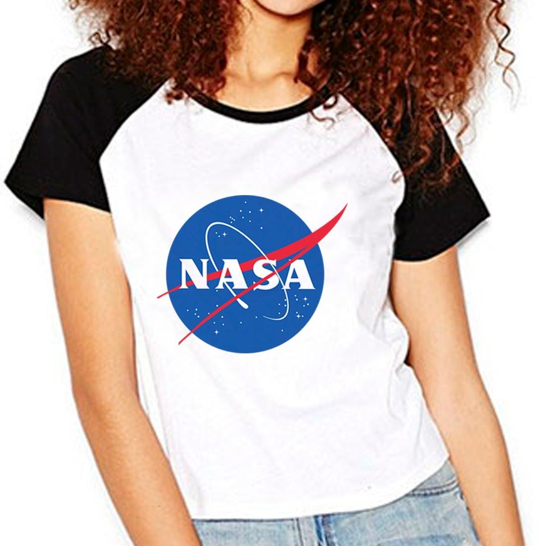 ecee81d42 camiseta nasa geek nerd cosplay raglan babylook. Carregando zoom.