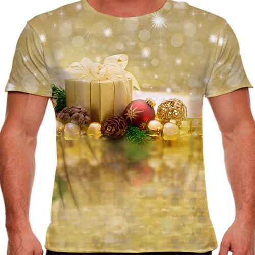 camiseta natal pretty masculina