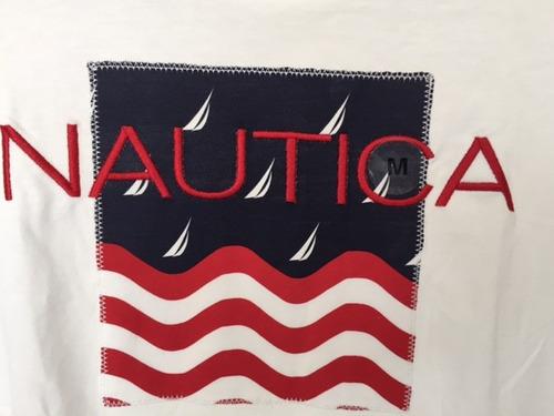 camiseta nautica mujer m