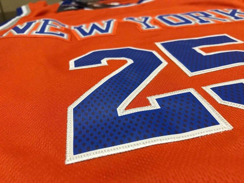 camiseta nba derrick rose new york knicks naranja  25. Cargando zoom. 07c3eeae803ac