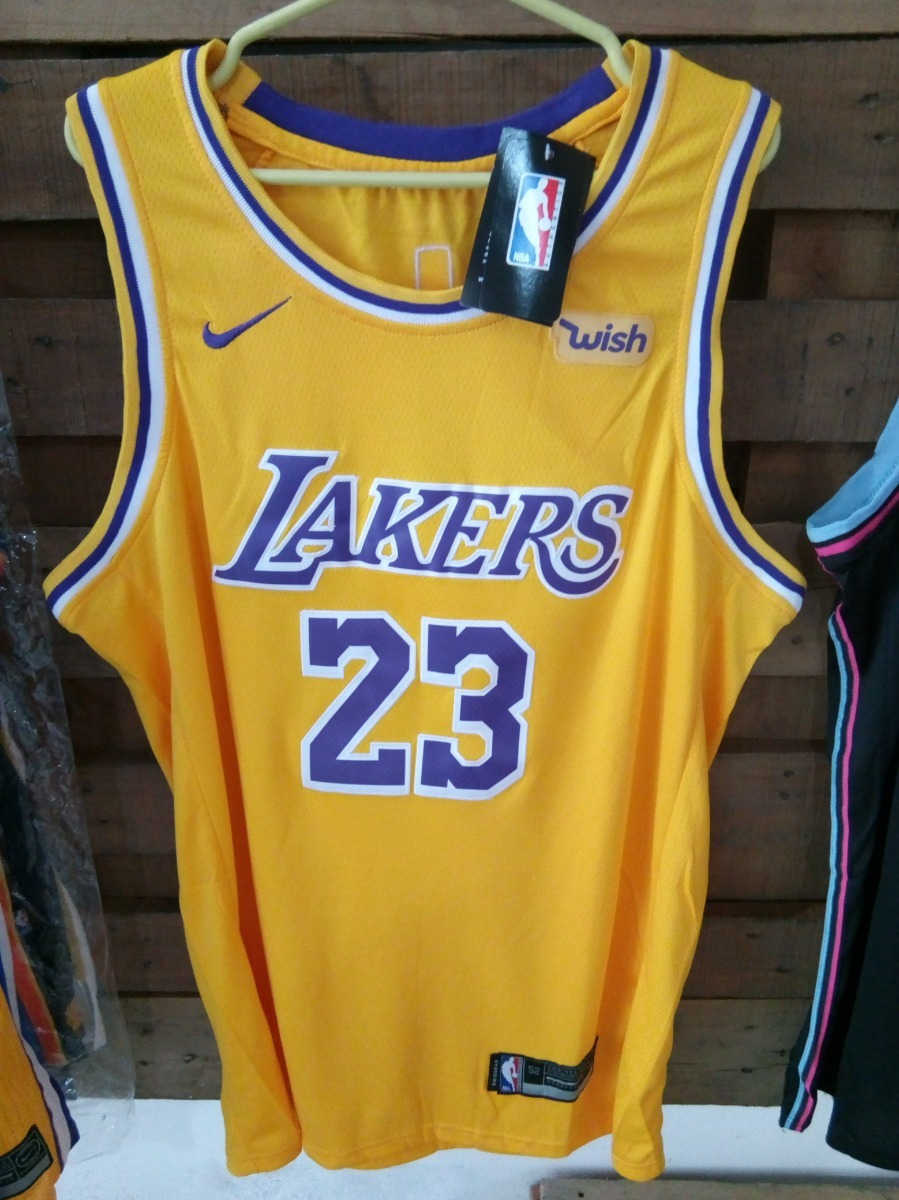 on sale 032c4 9f5b0 Camiseta Nba Nike Lebron James - Lakers #23