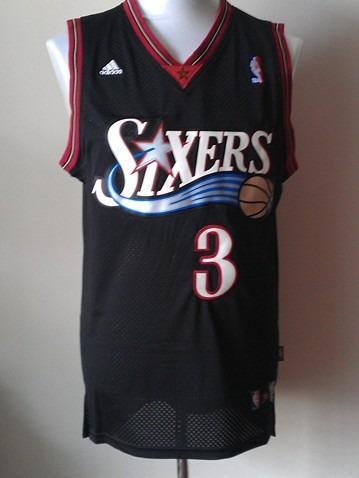 ba4775bf9 Camiseta Nba Regata Allen Iverson Philadelphia 76ers Sixers - R ...