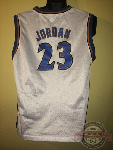 camiseta nba washington wizards, #23 jordan, reebok.