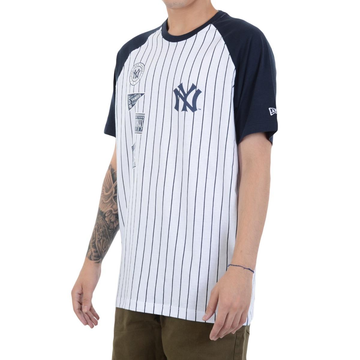 camiseta new era 25 team new york yankees branca. Carregando zoom. 96a14faf392