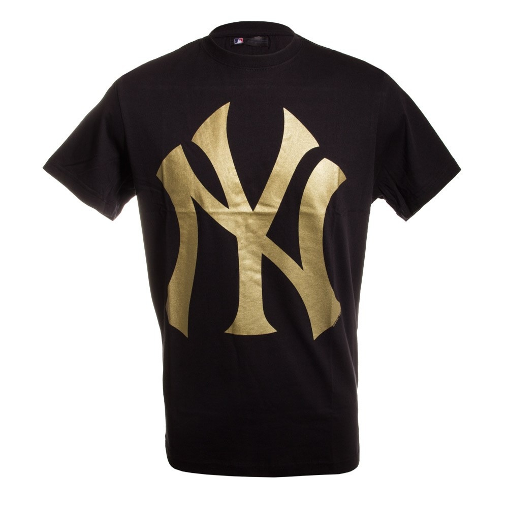 camiseta new era color new york yankees preto dourado. Carregando zoom. 8749d300775