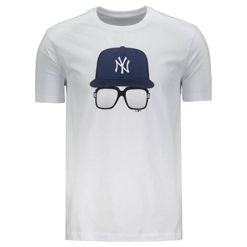 camiseta new era mlb new york yankees branca. Carregando zoom. 2765673fa73