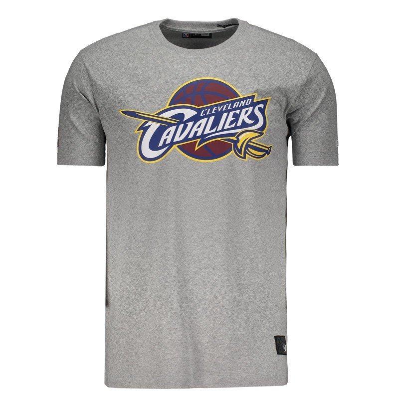 camiseta new era nba cleveland cavaliers logo cinza. Carregando zoom. fe93068617f82