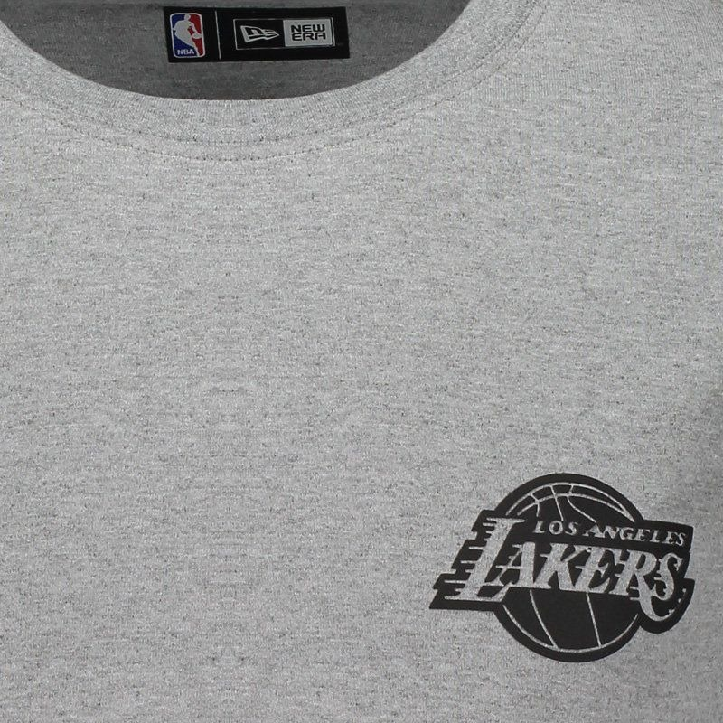 camiseta new era nba los angeles lakers cinza mescla. Carregando zoom. f0a8f0aa34215