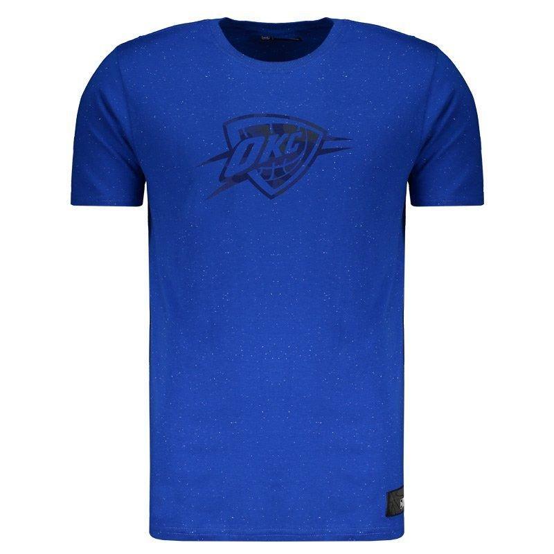 329cb1766 camiseta new era nba oklahoma city thunder respingos. Carregando zoom.