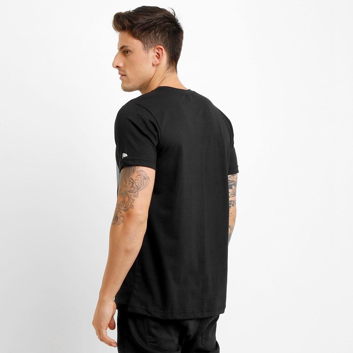 83393bc64f5f3 camiseta new era nfl permanente pittsburgh steelers - preto. Carregando  zoom.