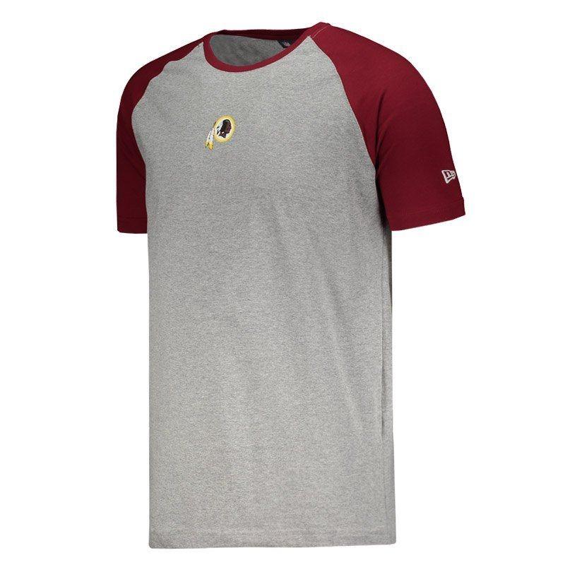 camiseta new era nfl washington redskins cinza. Carregando zoom. 6f1dff5555288