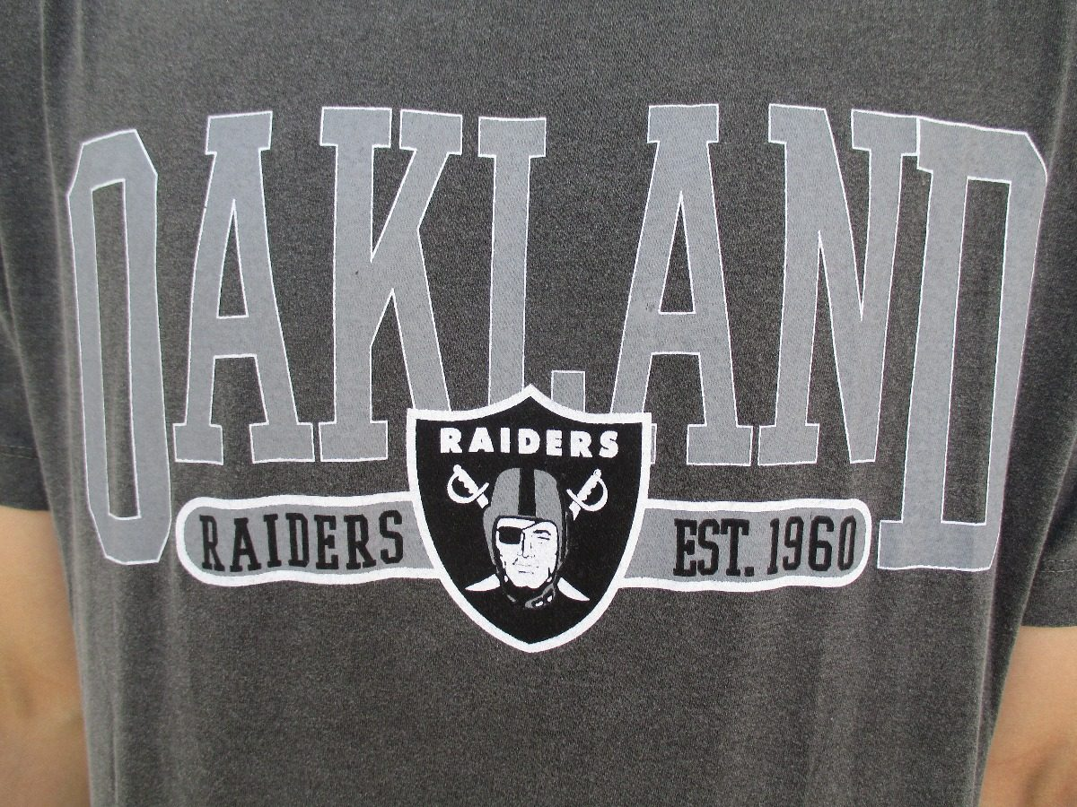 bcfc002788 camiseta new era oakland raiders estonado nfl cinza original. Carregando  zoom.