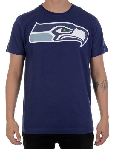 camiseta new era seattle seahawks marinho