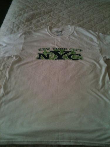camiseta new york city tam m