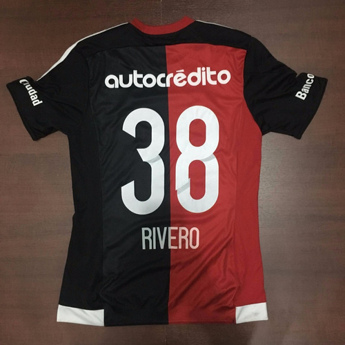 camiseta newells 2015 titular talle s #38 rivero