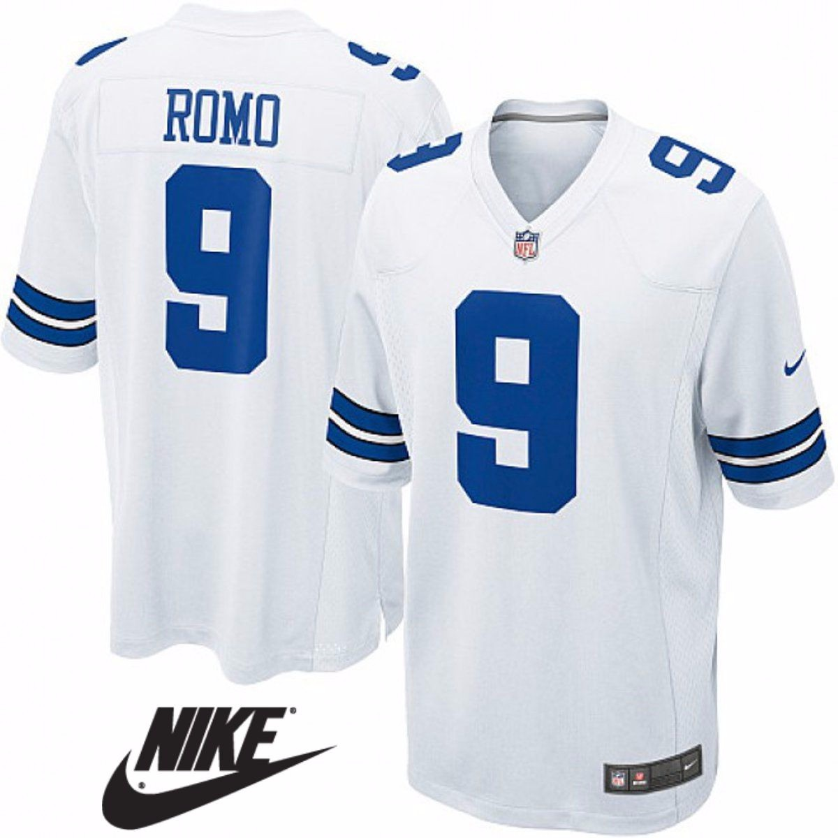 e209de6da8355 Camiseta Nfl Dallas Cowboys  9 Romo Futbol Americano Talle S -   799 ...