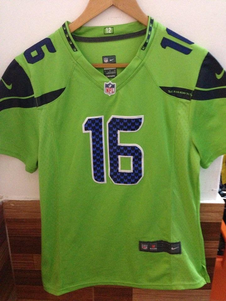 camiseta nfl futbol americano seattle seahawks fan verde. Cargando zoom. b079c8aa9a1